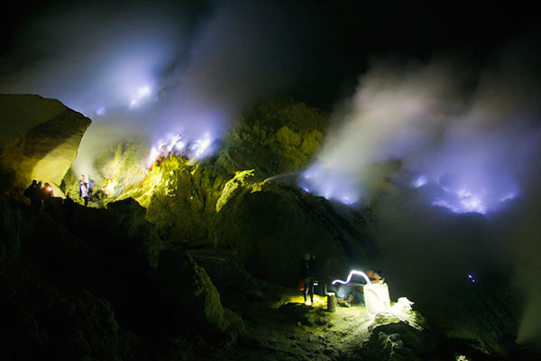 Ijen Blue Fire