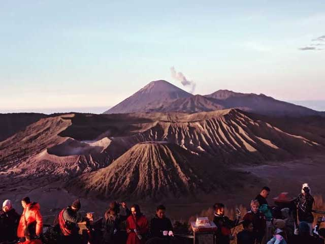Bukit Penanjakan Hill Bromo Bromo Sunrise Tour Bromo Milky Way - Mount Bromo Sunrise Tour Package Surabaya