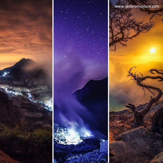 Blue Fire Ijen Volcano Java Indonesia - Ijen Tour From Banyuwangi